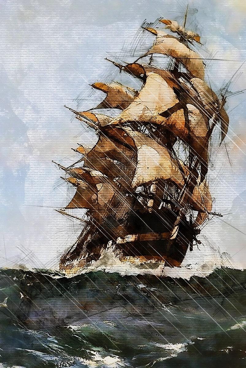 Sailing ship 2663381 1920